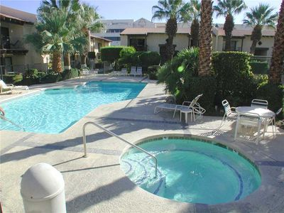 Photo for Bright Upper Level Rancho El Mirador Condo w/ Lush Grounds, Pool & Spa, Minutes to Downtown!