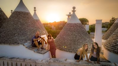Photo for iTrulliescape : Fantastic Trulli Masseria with relax cave