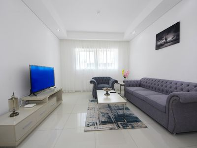 Photo for Sumptuous 1 Bedroom Apartment in Topaz Tower, Silicon Oasis
