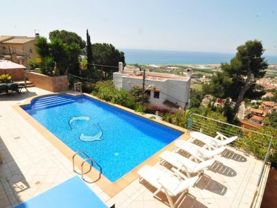Photo for Club Villamar - Nice and cozy villa with private pool, located in an elevated position with preci...