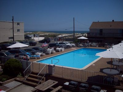 Photo for Beach Haven - Ocean Front Condo, Inground Pool, Steps to the Atlantic Ocean....