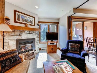 Photo for Picturesque Vail One Bedroom Condo. Steps to Lift, Hot Tub, Pool