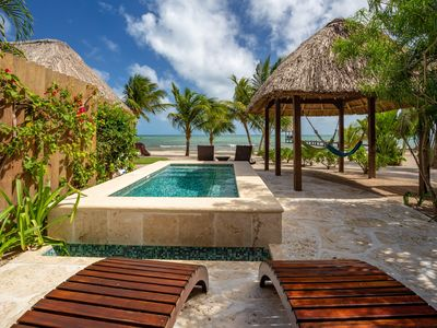 Photo for Turtle Villa - Luxury One Bedroom Beachfront Villa with Private Plunge Pool