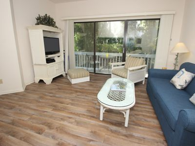 Photo for Pet Friendly Townhouse within walking distance to the beach--23 Ocean Breeze