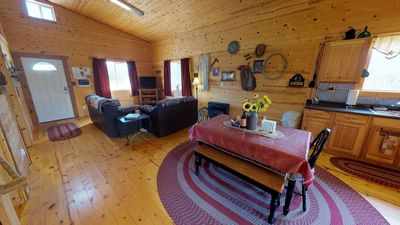 Photo for Adorable Western Cabin with BBQ, Kitchen, Campfire, Views at Canyonlandslodging