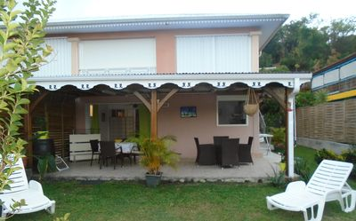 Photo for Luxury Apt on garden 5 minutes walk from the beach