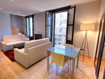 Photo for Apartment in the center of Barcelona with Lift, Parking, Washing machine, Air conditioning (743421)