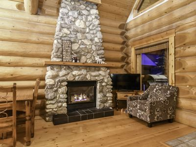 Photo for Cabin in the woods - Ski/hike/snowmobile/ATV/dogsled rides/white water rafting