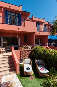 Photo for 3 BEDROOM BUNGALOW IN MELONERAS, COMMUNAL POOL, 2 BATHROOMS CLOSE TO THE BEACH
