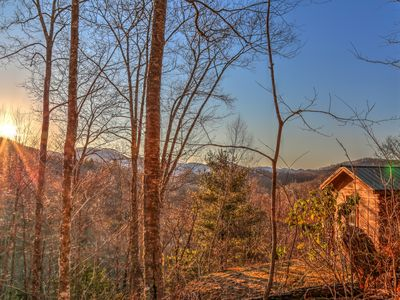 Photo for //Smawlie\\Secluded*Peaceful*Spectacular Mountain Views*Near Nantahala Lake*Hike