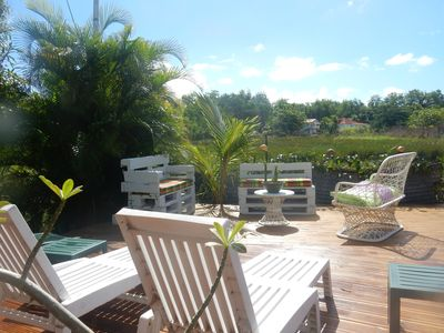 Photo for rent in a quiet area, 5 minutes walk from the beach of La Caravelle