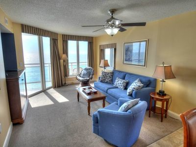 Photo for Bahama Sands - 1009 Spacious oceanfront 3 bedroom unit.