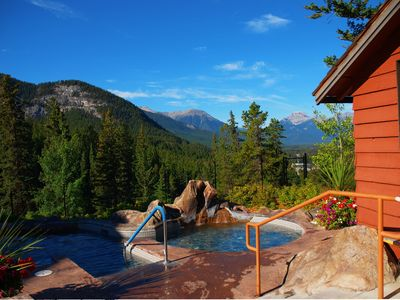 Photo for Cozy + Relaxing Banff Condo | Pristine Hot Pools Access!