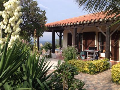 Photo for THE OAKS, Our villa in the south of France.