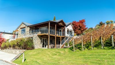 Photo for Stylish inviting home, close to Lake Wanaka and with stunning views