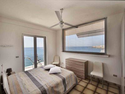 Photo for Apartment overlooking the sea with a view of old Gallipoli and the whole bay