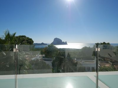 Photo for Superb, Modern Detached Family Villa With Stunning Sea and Countryside Views