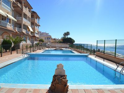 Photo for Flat with sea views, 3 pools in a quiet residential