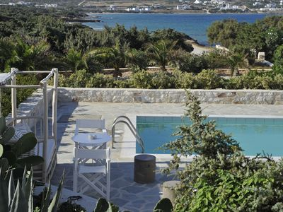 Photo for PRESIDENT VILLA, Paros Island, 4 Bedrooms, 3 Bathrooms, Private Pool, Up to 10 Guests Enjoy space and privacy !