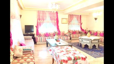 Photo for 2BR Apartment Vacation Rental in Casablanca