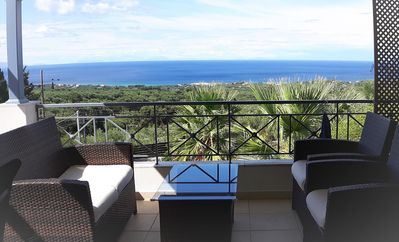 Photo for Luxury Villa in a quiet location, private swimming, panoramic sea views!