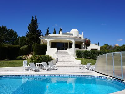 Photo for Villa With Heated Private Pool, Sea Views, Quiet Location