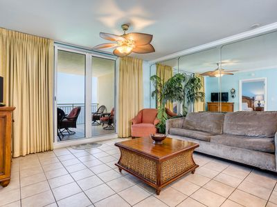 Photo for Island-inspired condo w/ gulf view & beach access - ideal location