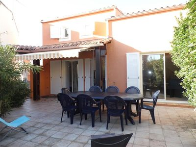 Photo for In Cap d'Agde villa with 4 bedrooms and swimming pool