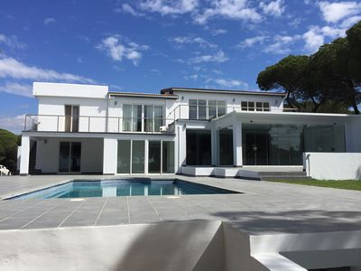 Photo for Villa SIEMPRE DOMINGO with swimming pool at 400m from the sea for max 22p.