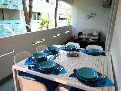 Photo for BLUE HOUSE - 50 meters from the beach and the cycle path
