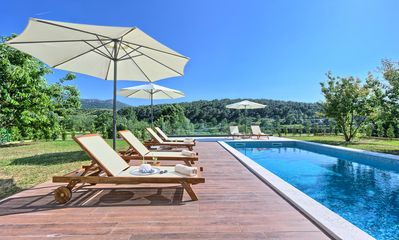 Photo for VILLA AMELIA - Amazing newly built 4 Bedroom Villa with Jacuzzi, Sauna and Gym