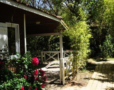 Photo for Camping Arcachon Nature - 3 room prestige chalet 7 people