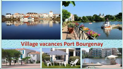 Photo for GOLF BOURGENAY / TALMONT ST HILAIRE / PANORAMIC VIEW ON THE LAKE / P&V SITE
