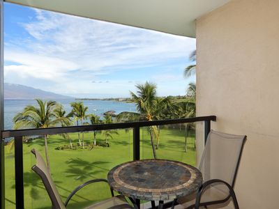 Gorgeous Ocean front view from your lanai! Starting at $159- Kihei Surfside #608