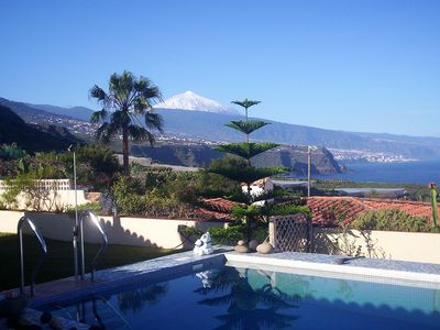 Photo for FANTASTIC LOCATION with wonderful VIEWS of ATLANTIC-TEIDE PUERTO DE LACRUZ