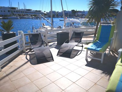 Photo for Pleasant marina for 6 people