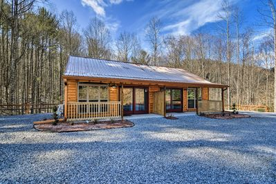 Embark on a secluded getaway to the 'Ridge at Roan Mountain!'