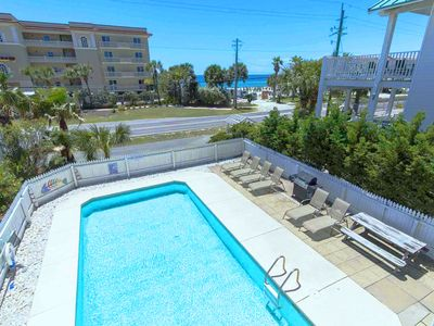 ☼4BR A VIP Hideaway☼$1800/mo for Dec! PRIV Pool- 500ft to BEACH- Crystal Bch