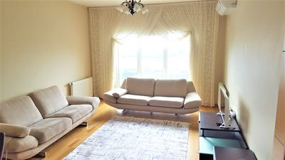 Photo for Başakşehir Metrokent 2+1 Secure Flat w/View/Pool/GYM/AirCond