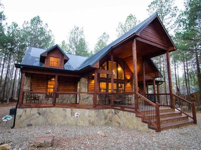 Photo for Serenity Point Cabin  (4 Bdrm) (High Lux)(HOT TUB)
