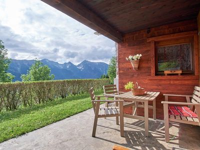 """Photo for Rustic Holiday Home """"Baita Nido tra i Monti"""" (CIPAT number: 022232-AT-063456) with Mountain View & Terrace; Parking Available, Pets Allowed upon Request"""