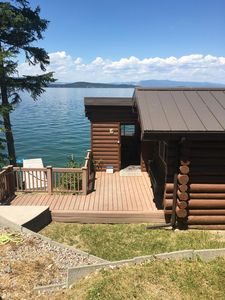 Fabulous Restored 1940S Resort Cabin On Flathead Lake Mt Polson Home Remodeling Inspirations Genioncuboardxyz