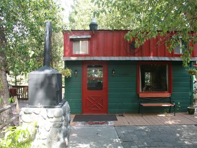 Photo for One Bedroom Creekside Cabin located half way between Yellowstone NP and Cody