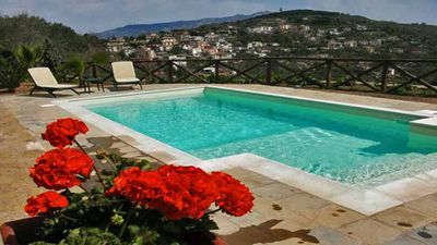Photo for VILLA AMORE - HOLIDAY VILLA - SANT´AGATA SUI DUE GOLFI - MASSA LUBRENSE