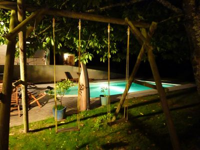 Photo for GDE VILLA 6 CH, POOL, SPA, SAUNA, IDEAL FOR 2 OR 3 FAMILIES