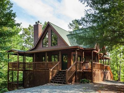 Photo for Peace of Heaven is a jewel hidden in the heart of the North Georgia Mountains. Non pet-friendly.