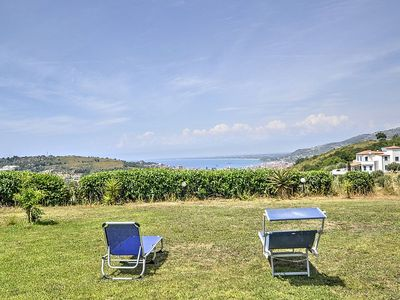 Photo for Villa Filarina: An elegant and welcoming three-story villa situated on a promontory facing the sea, with Free WI-FI.