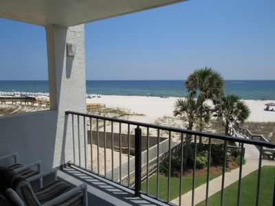 Photo for Beautiful Beach Front Condo - Best Orange Beach Location