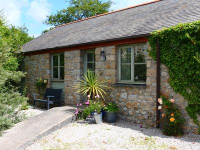Photo for Farm Cottage in secluded rural position -close to isolated cove on the Lizard