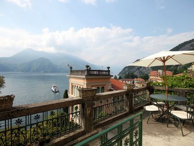 Photo for Villa Guardini, is a beautiful, glamorous Liberty style villa, perched above the town of Varenna.The